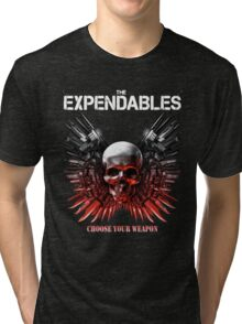 The Expendables Movie Tri-blend T-Shirt