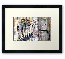 Italy Venice Midday Framed Print