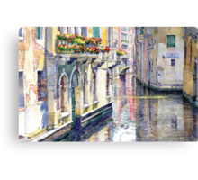 Italy Venice Midday Canvas Print
