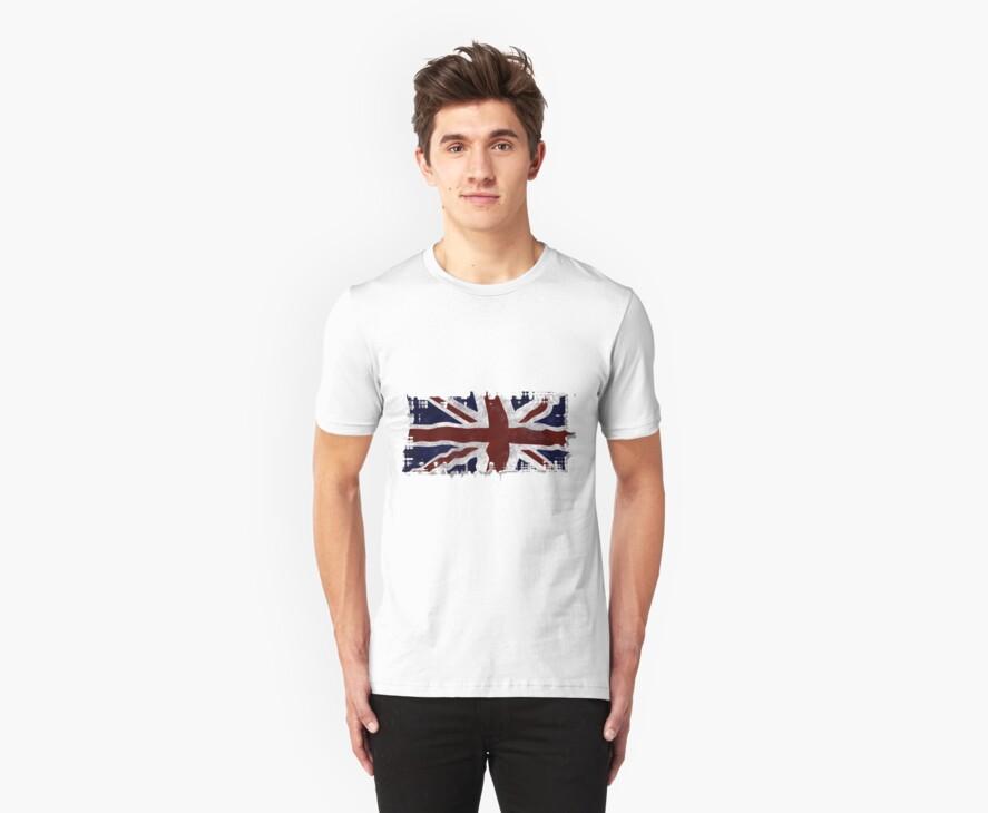Patriotic Union Jack UK Union Flag by NaturePrints