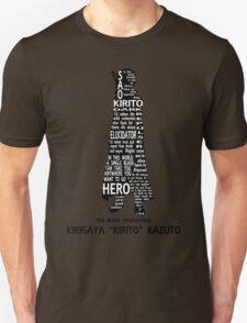 Kirito Typography T-Shirt