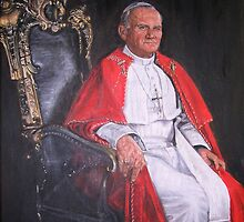 Pope John Paul II by tsita13