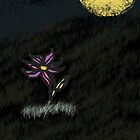 Lonely Flower in the Clearing by Babiihaire92