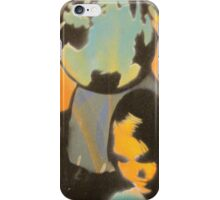 "Banksy Style Stencil Graffiti -  ""World Games"" iPhone Case/Skin"