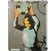 "Banksy Style Stencil Graffiti -  ""World Games"" iPad Case/Skin"