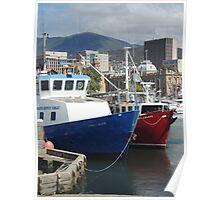 Constitution Dock, Hobart, Tasmania Poster