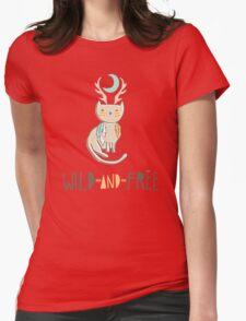 Wild and Free Womens T-Shirt