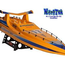 1:14 Scale Spurt Radio Controlled Boat - 1m by adam258