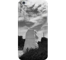 Martin Luther King Jr In Dc iPhone Case/Skin