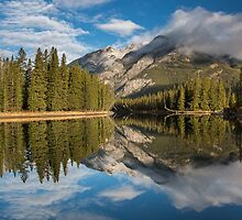 Bow River Reflections by Craig Sutherland