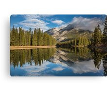 Bow River Reflections Canvas Print