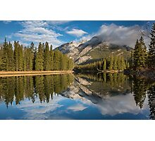Bow River Reflections Photographic Print