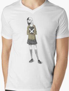 Miss Gorey Mens V-Neck T-Shirt