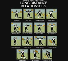 Long Distance Relationships - Successful Unisex T-Shirt