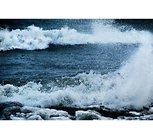 Wind, Waves & Ice Photographic Print