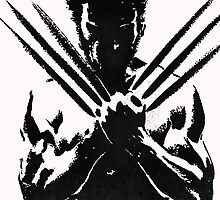 The Wolverine - Black by DLIU36