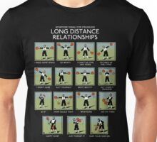 Long Distance Relationships - Struggling Unisex T-Shirt