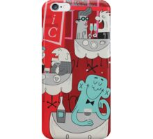 PAINT THE TOWN - Panel 4 iPhone Case/Skin