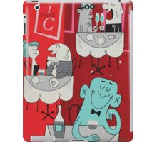 PAINT THE TOWN - Panel 4 iPad Case/Skin