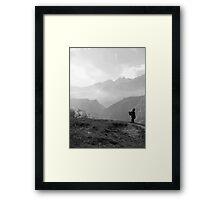 Survey The Hills Framed Print