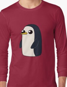 Cute Animated Penguin  Long Sleeve T-Shirt