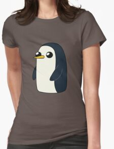 Cute Animated Penguin  Womens Fitted T-Shirt