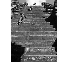 Ancient Escalator Photographic Print
