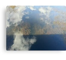 Shallow Pond Sky Canvas Print