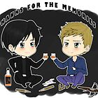 Alaric and Damon  by Shadowdark1
