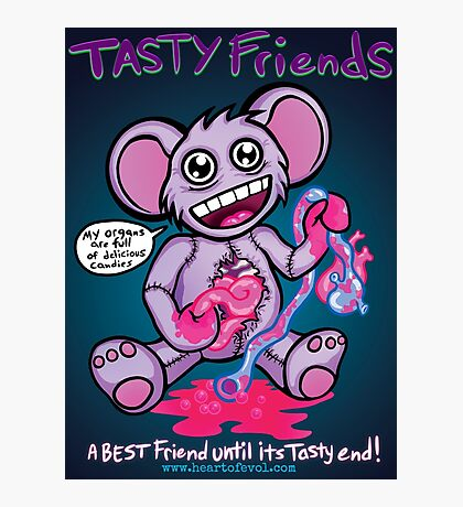 Tasty Friends Photographic Print