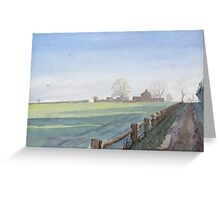 Abbeyland Cottages Greeting Card