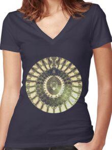 Oriental Sun Women's Fitted V-Neck T-Shirt