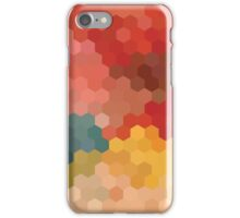 Colourful Hexagons iPhone Case/Skin