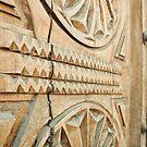 Sculpted wooden door from a church by wildrain