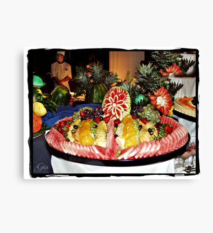 """ Fruit Fantasy "" Canvas Print"