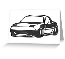 Miata Greeting Card
