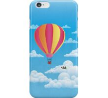 Picnic in a Balloon on a Cloud iPhone Case/Skin