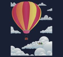 Picnic in a Balloon on a Cloud Kids Clothes