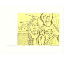 diciples Art Print