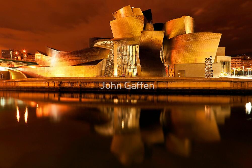 Guggenheim Reflections IV by John Gaffen