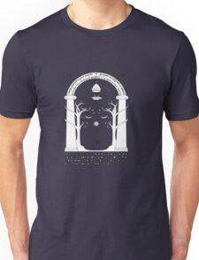 The gates of the moria Unisex T-Shirt