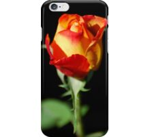 Fiery Rose iPhone Case/Skin