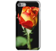 Fiery Rose iPhone Case/Skin