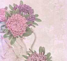 Tea Pot Asters by Sandra Foster