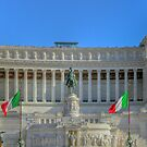 Victor Emmanuel II Monument in Rome by wildrain