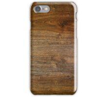 Wooden box iPhone Case/Skin