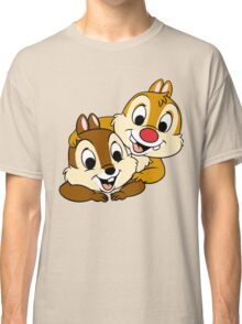 Funny Chip and Dale Classic T-Shirt