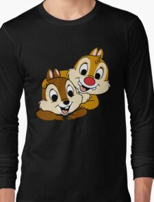 Funny Chip and Dale Long Sleeve T-Shirt