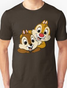 Funny Chip and Dale Unisex T-Shirt