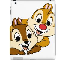 Funny Chip and Dale iPad Case/Skin